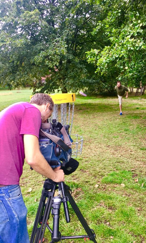 ITV Granada Films Disc Golf at Longford Park